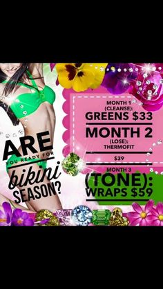 Get ready for summer with the It Works 90 Day Challenge! It Works Wraps, My It Works, It Works Triple Threat, It Works Global, It Works Products, Cellulite Cream, 90 Day Challenge, Crazy Wrap Thing, Bikini Ready