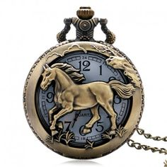 Cheap gift paperweight, Buy Quality pendant control directly from China gift craft home decor Suppliers: Antique Bronze orologio taschino Horse Hollow Quartz pocket watch necklace Chain Pendant Womens Men Watches Gifts Bronze, Retro, Mens Watch Box, Watch Women, Pocket Watch Necklace, Necklace Chain, Quartz Pocket Watch, Steampunk Watch, Skeleton Watches