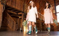 8 Reasons to be a Bride Who Wears Cowboy Boots: http://www.countryoutfitter.com/style/8-reasons-to-be-a-bride-who-wears-cowboy-boots/