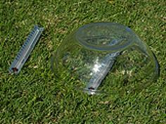 In this activity you will demonstrate how the greenhouse effect warms the Earth. A glass bowl placed upside down on a grassy surface and exposed to sunlight represents gases and clouds in the Earth's atmosphere; the grassy surface represents the Earth's land surface.