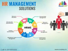 #HRManagementSolutions are responsible for the elimination of all the manual HR processes. It focuses on what's strategically important to the business and the associated employees. See more @ http://bit.ly/2n10DsQ #RealERP #HRManagement
