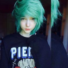 . When ur hair is perfectly messy + FolIow my backup @lefabulouskillj0y
