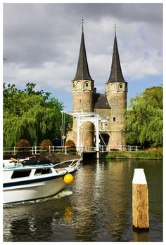 The Eastern Gate (Oostpoort), Delft, Netherlands Copyright: Lybil BER