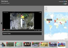 Weird sports...are you ready to compete? #ExtremeSports #Esri Finland #storymap