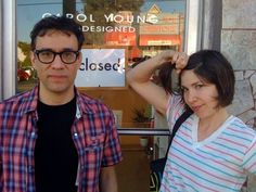 Fred Armisen and Carrie Brownstein - Awesome people!