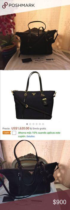e12ce4371 EXCELLENT CONDITION PRADA MILANO BAG !!!!! Prada TESSUTO Nailon suave  pantorrilla y
