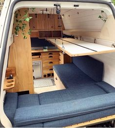 "Experience Vanlife 🚐 on Instagram: ""Worry not, my friend, that bed can support a baby elephant's weight. 🚙 2011 VW T5 High Roof 📸 by @homerroamer For much more wonderful…"""