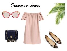 Summer vibes 2017 by netstylistka on Polyvore featuring moda, Chanel and Jimmy Choo