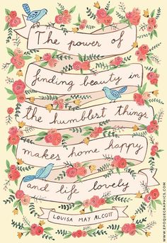 Louisa May Alcott quote art print by EpoqueGraphics