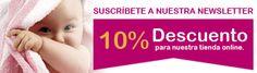 Suscríbete a nuestro blog y gana un 10% de descuento para nuestra tienda online de bebés.