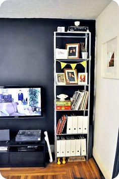Ikea Hack for tall hyllis shelf $30