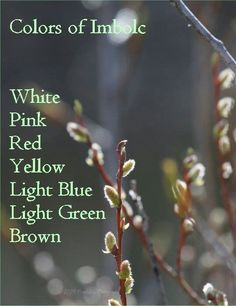 Colors of Imbolc