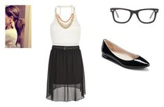 """""""Untitled #195"""" by oliviathepig123 ❤ liked on Polyvore featuring Ray-Ban and Pacha"""