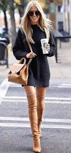 idées inspiration tenues automne-hiver Be Badass II Mode & Lifestyle - idées inspiration tenues automne-hiver Be Badass II Mode & Lifestyle - Cute Summer Outfits, Fall Winter Outfits, Autumn Winter Fashion, Spring Outfits, Dress Winter, Winter Chic, Casual Winter, Winter Wear, Winter Boots