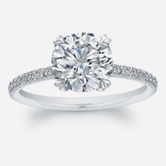 How Are Vintage Diamond Engagement Rings Not The Same As Modern Rings? If you're deciding from a vintage or modern diamond engagement ring, there's a great deal to consider. Round Solitaire Engagement Ring, Princess Cut Engagement Rings, Beautiful Engagement Rings, Diamond Solitaire Rings, Vintage Engagement Rings, Princess Wedding, Halo Engagement, Ruby Rings, Vintage Rings