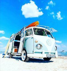 Vw Samba Bus, Combi T1, Vw T1, Volkswagen Bus, Gmc Trucks, Vw Beetles, Campervan, Van Life, Cool Cars
