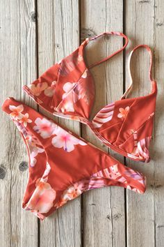 Stone Fox Swim Isla Top and Malibu Bottom Ku'u Lei