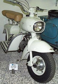 Scooter Rumi Formichino 1955, Moto Rumi, Bergame, Italie, Europe