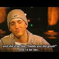 Eminem Funny, Hailie Jade, Rap God, Slim Shady, Mariah Carey, Daddy, Celebs, Tattos, Instagram Posts