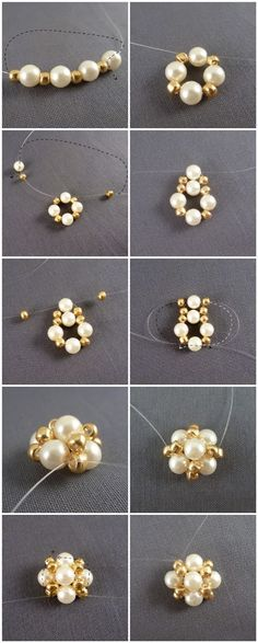 Easter jewelry inspiration project-how to make earrings studs out of pearls – Pandahall