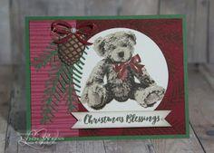 LW Designs: Christmas Baby Bear