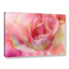 """House of Hampton Rose 2 Graphic Art on Wrapped Canvas Size: 32"""" H x 48"""" W x 2"""" D"""