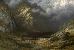 Lac en Ecosse après l'orage - Gustave Doré