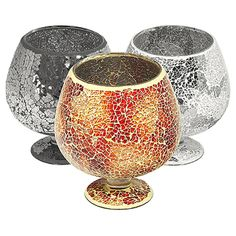 Furniture In Fashion Sparkling Small Hurricane In Glass Mosaic Christmas Buffet Table, Christmas Table Decorations, Small Candle Holders, Small Candles, Decorative Items, Decorative Accessories, Decorative Bowls, Carpet World, Mosaic Furniture