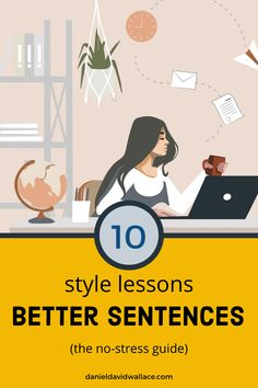 The lesson on verbs vs nouns is excellent! Writing Resources, Writing Tips, Grammar Tips, Good Sentences, Story Structure, Hero's Journey, Writing Styles, Paragraph, Blogging For Beginners