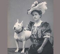 I like vintage photos, and I particularly like vintage photos showing pit bulls prior to widespread abuse.