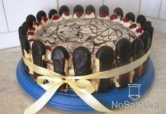 Gesztenyés-meggyes torta