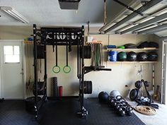 Best home garage gym inspiration images in garage