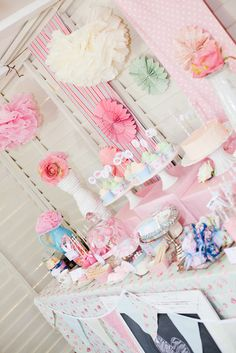 "Photo 1 of 20: Shabby Chic Princess Party / Birthday ""Shabby Chic Princess Party"" 