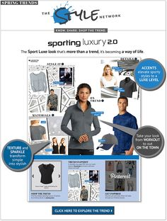 SanMar l Sporting Luxury 2.0 -- At the crossroads where fitness meets fashion, you'll find athleisure – the sports luxe look that's more than a trend, it's becoming a way of life.
