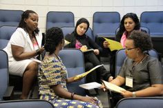 2013 PEACE THROUGH BUSINESS® Business Bootcamp small group discussion