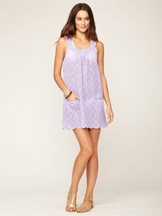 Embroidered Eyelet Cover-Up by Shoshanna on Gilt.com