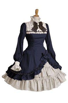 Amazon.co.jp: QUEENSHINY レディーズ ロリータ Lolita プリンセス ゴスロリィタ ゴスロリ ワンピース: 服&ファッション小物通販