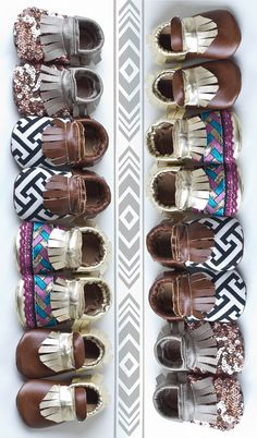 Minimoxie Geotribe Moccs by minimoxie on Etsy