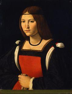 M<3 Andrea Solario, Ritratto femminile, 1505-1507, Pinacoteca Castello Sforzesco | Milano
