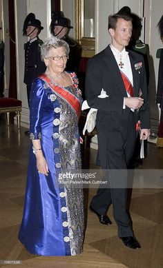 Prince Joachim Of Denmark & Princess Astrid Attend King Harald Of Norway'S 70Th Birthday Celebrations In Oslo.Gala Dinner & Dance At The Royal Palace.