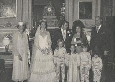 Princess Wanda de Ligne + Alfonso Gonzalo Perez de Guzman y Bustos via Royaldish