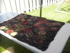 how to make. beautiful. felt. rug.