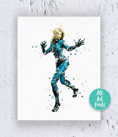25% OFF: Fantastic Four The Invisible Woman Print by AllArtPrints
