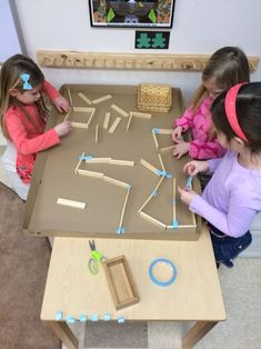Love this reggio inspired activity!