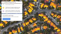 Thinking of going solar? Google's Project Sunroof will show you the best place to put them on your house #solar