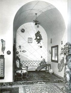 Ritratto Portaluppi in casa Atellani, 1957