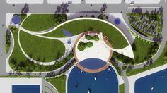 San Diego Waterfront - design: Lindsay Brown Studio
