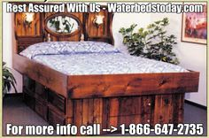 http://www.waterbedstoday.com/ ~ #Waterbeds are in our DNA with the 4o years experience to back it up!  Best waterbed #furniture!