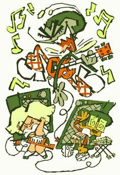 what a team player ! Art Journal Inspiration, Art Inspo, Character Inspiration, Cartoon Styles, Cartoon Art, Character Design Animation, Character Drawing, Different Art Styles, Epic Art
