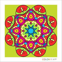 Colorfy app Mandala volume 2